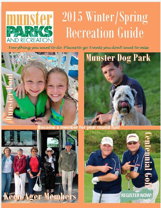 2015 Winter Spring Recreation Online NOW!