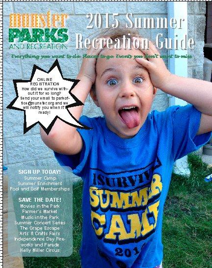 2015 Summer Recreation Guide Now Online!