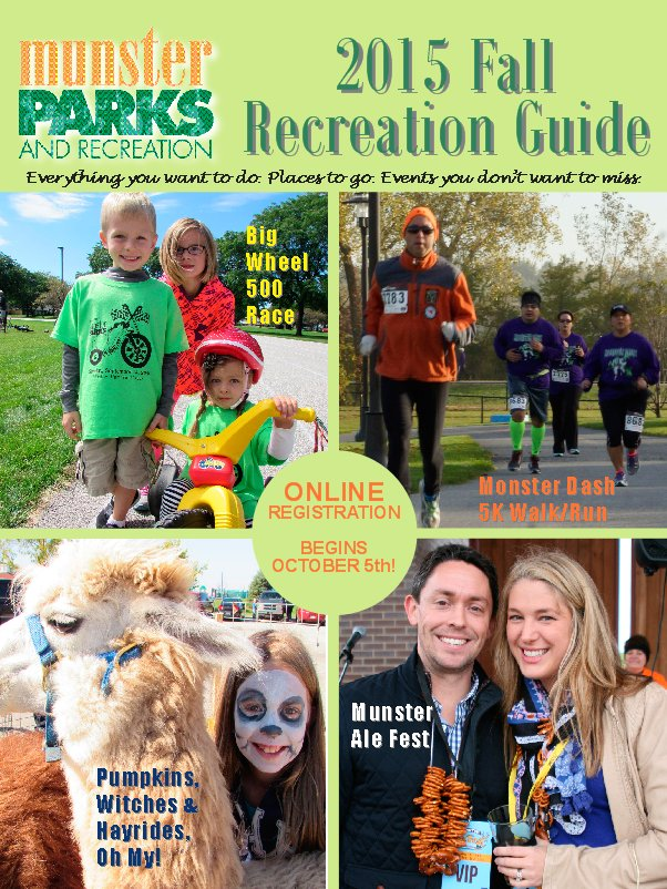 2015 Fall Recreation Online NOW!