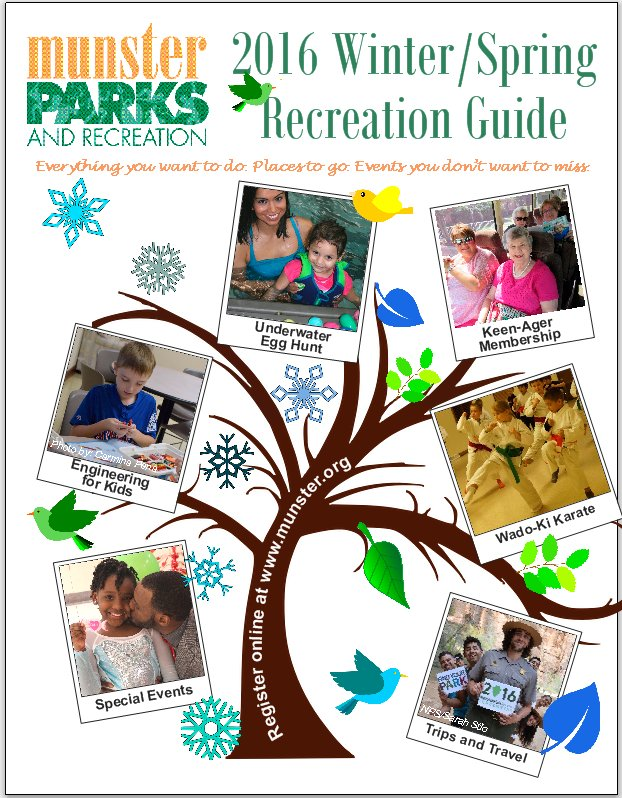 2016 Winter Spring Recreation Guide
