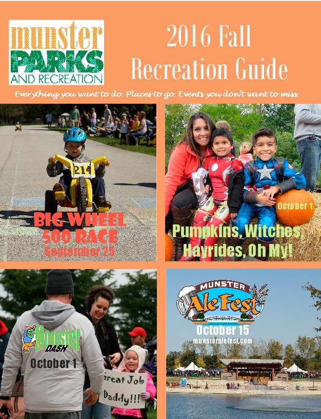 2016 Fall Recreation Guide