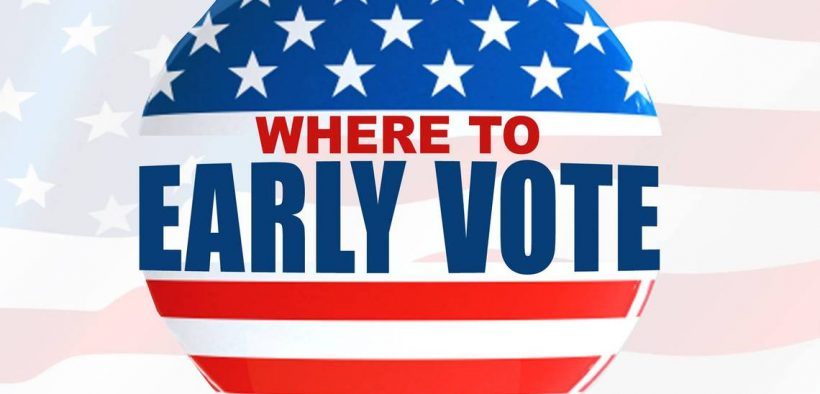 Image for news story: List of Early Voting Satellite Locations