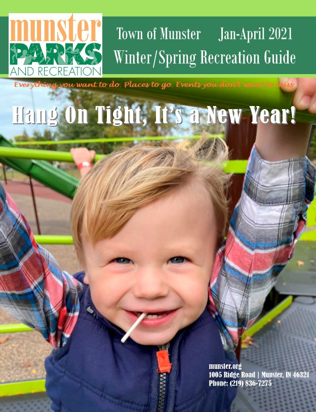 Image for news story: 2021 Winter/Spring Recreation Guide PDF File